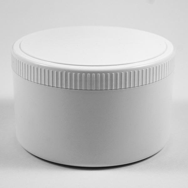 Lieferant für weiße Kunststoffdosen mit Schraubdeckel