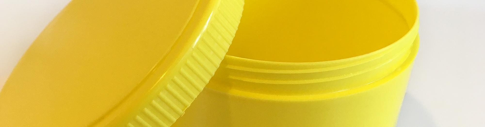 farbige Kunststoffdosen mit Deckel Sonderlösungen